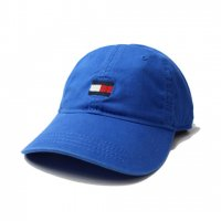 TOMMY HILFIGER-6PANEL LOGO CAP(BLUE)<img class='new_mark_img2' src='//img.shop-pro.jp/img/new/icons5.gif' style='border:none;display:inline;margin:0px;padding:0px;width:auto;' />