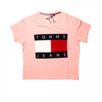TOMMY JEANS-LOGO S/S T-SHIRTS(PINK)<img class='new_mark_img2' src='https://img.shop-pro.jp/img/new/icons5.gif' style='border:none;display:inline;margin:0px;padding:0px;width:auto;' />