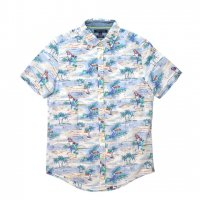 TOMMY HILFIGER-ALOHA SHIRT(WHITE×BLUE)<img class='new_mark_img2' src='https://img.shop-pro.jp/img/new/icons5.gif' style='border:none;display:inline;margin:0px;padding:0px;width:auto;' />