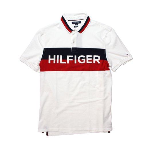 TOMMY HILFIGER-POLO SHIRT(WHITE)