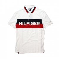 TOMMY HILFIGER-POLO SHIRT(WHITE)<img class='new_mark_img2' src='//img.shop-pro.jp/img/new/icons5.gif' style='border:none;display:inline;margin:0px;padding:0px;width:auto;' />