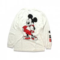 FILA -DISNEY BASKET BALL L/S T-SHIRT(WHITE)<img class='new_mark_img2' src='//img.shop-pro.jp/img/new/icons5.gif' style='border:none;display:inline;margin:0px;padding:0px;width:auto;' />