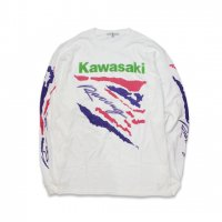 JUNK FOOD-KAWASAKI L/S T-SHIRT(WHITE)<img class='new_mark_img2' src='//img.shop-pro.jp/img/new/icons5.gif' style='border:none;display:inline;margin:0px;padding:0px;width:auto;' />