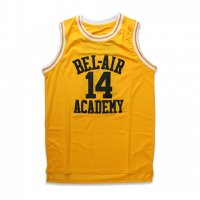 BEL-AIR ACCADEMY -#14 SMITH MESH JERSEY(YELLOW)<img class='new_mark_img2' src='//img.shop-pro.jp/img/new/icons5.gif' style='border:none;display:inline;margin:0px;padding:0px;width:auto;' />