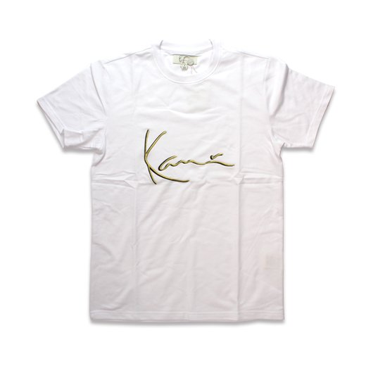 KARL KANI-GOLD3D EMBRIDERY  S/S T-SHI...