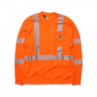 Carhartt -FORCE L/S CLASS 3 T-SHIRT(B.ORENGE)<img class='new_mark_img2' src='//img.shop-pro.jp/img/new/icons5.gif' style='border:none;display:inline;margin:0px;padding:0px;width:auto;' />