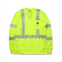 Carhartt -FORCE L/S CLASS 3 T-SHIRT(B.LIME)<img class='new_mark_img2' src='//img.shop-pro.jp/img/new/icons5.gif' style='border:none;display:inline;margin:0px;padding:0px;width:auto;' />