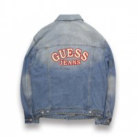 GUESS JEANS-OVERSIZED DENIM JACKET(DENIM)<img class='new_mark_img2' src='//img.shop-pro.jp/img/new/icons5.gif' style='border:none;display:inline;margin:0px;padding:0px;width:auto;' />