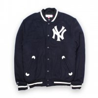Mitchell&Ness-NEW YORK YANKKES VERSITY JACKET(NAVY)