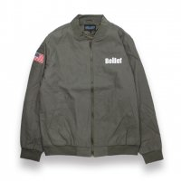 BELIEF NYC -WORLD TRADE JACKET(OLIVE)<img class='new_mark_img2' src='https://img.shop-pro.jp/img/new/icons5.gif' style='border:none;display:inline;margin:0px;padding:0px;width:auto;' />