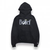 BELIEF NYC -MIDNIGHT CHAMPION HOODIE(BLACK)<img class='new_mark_img2' src='//img.shop-pro.jp/img/new/icons5.gif' style='border:none;display:inline;margin:0px;padding:0px;width:auto;' />