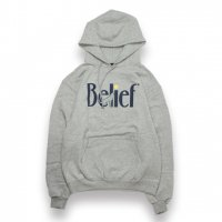 BELIEF NYC -MIDNIGHT CHAMPION HOODIE(STEEL GRAY)<img class='new_mark_img2' src='//img.shop-pro.jp/img/new/icons5.gif' style='border:none;display:inline;margin:0px;padding:0px;width:auto;' />