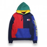 TOMMY JEANS-90'S COLORBLOCKED HOODIE(MULTI)<img class='new_mark_img2' src='https://img.shop-pro.jp/img/new/icons5.gif' style='border:none;display:inline;margin:0px;padding:0px;width:auto;' />