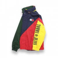 TOMMY JEANS-90'S SALING JACKET(MULTI)<img class='new_mark_img2' src='//img.shop-pro.jp/img/new/icons5.gif' style='border:none;display:inline;margin:0px;padding:0px;width:auto;' />