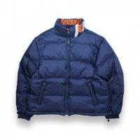 KARL KANI-REVERSIBLE KANI BUBBLE COAT(NAVY/ORENGE)<img class='new_mark_img2' src='https://img.shop-pro.jp/img/new/icons5.gif' style='border:none;display:inline;margin:0px;padding:0px;width:auto;' />