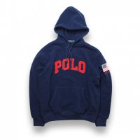 POLO RALPH LAUREN -POLAR FLEECE HOODIE(NAVY)<img class='new_mark_img2' src='https://img.shop-pro.jp/img/new/icons5.gif' style='border:none;display:inline;margin:0px;padding:0px;width:auto;' />
