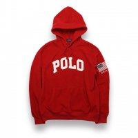POLO RALPH LAUREN -POLAR FLEECE HOODIE(RED)<img class='new_mark_img2' src='https://img.shop-pro.jp/img/new/icons5.gif' style='border:none;display:inline;margin:0px;padding:0px;width:auto;' />