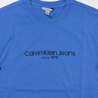 Calvin Klein Jeans-OLD SCHOOL S/S T-SHIRT(BLUE)<img class='new_mark_img2' src='//img.shop-pro.jp/img/new/icons5.gif' style='border:none;display:inline;margin:0px;padding:0px;width:auto;' />