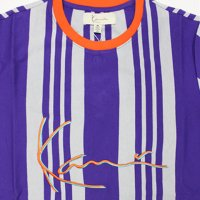 KARL KANI- VERTICAL STRIPE  S/S T-SHIRT(HELIOTROPE)<img class='new_mark_img2' src='https://img.shop-pro.jp/img/new/icons5.gif' style='border:none;display:inline;margin:0px;padding:0px;width:auto;' />