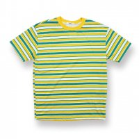 <50%OFF>EPTM.-90'S STRIPE S/S T-SHIRT(YELLOW/GREEN)<img class='new_mark_img2' src='//img.shop-pro.jp/img/new/icons20.gif' style='border:none;display:inline;margin:0px;padding:0px;width:auto;' />