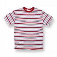 EPTM.-90'S STRIPE S/S T-SHIRT(BURGUNDY/SKY BLUE)<img class='new_mark_img2' src='//img.shop-pro.jp/img/new/icons5.gif' style='border:none;display:inline;margin:0px;padding:0px;width:auto;' />