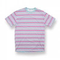 EPTM.-90'S STRIPE S/S T-SHIRT(PINK/SKY BLUE)<img class='new_mark_img2' src='//img.shop-pro.jp/img/new/icons5.gif' style='border:none;display:inline;margin:0px;padding:0px;width:auto;' />