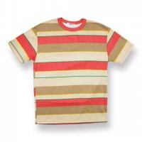 EPTM.-90'S STRIPE S/S T-SHIRT(TAN/RUST)<img class='new_mark_img2' src='//img.shop-pro.jp/img/new/icons5.gif' style='border:none;display:inline;margin:0px;padding:0px;width:auto;' />