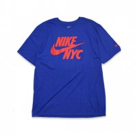 NIKE -S/S T-SHIRT NYC(BLUE)<img class='new_mark_img2' src='//img.shop-pro.jp/img/new/icons5.gif' style='border:none;display:inline;margin:0px;padding:0px;width:auto;' />