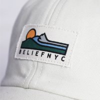 BELIEF NYC -TRRAIN 6PANNEL CAP(BONE)<img class='new_mark_img2' src='https://img.shop-pro.jp/img/new/icons5.gif' style='border:none;display:inline;margin:0px;padding:0px;width:auto;' />