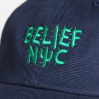 BELIEF NYC -CACTUS CAP(NAVY)<img class='new_mark_img2' src='//img.shop-pro.jp/img/new/icons5.gif' style='border:none;display:inline;margin:0px;padding:0px;width:auto;' />