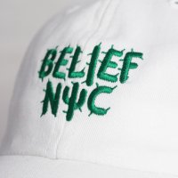 BELIEF NYC -CACTUS CAP(WHITE)<img class='new_mark_img2' src='https://img.shop-pro.jp/img/new/icons5.gif' style='border:none;display:inline;margin:0px;padding:0px;width:auto;' />