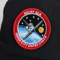 BELIEF NYC -SHUTTLE 6PANNEL CAP(BLACK)<img class='new_mark_img2' src='//img.shop-pro.jp/img/new/icons5.gif' style='border:none;display:inline;margin:0px;padding:0px;width:auto;' />