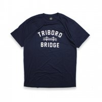 BELIEF NYC -BRIDGE S/S T-SHIRT(NAVY)<img class='new_mark_img2' src='//img.shop-pro.jp/img/new/icons5.gif' style='border:none;display:inline;margin:0px;padding:0px;width:auto;' />