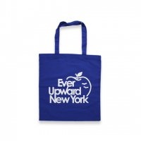 BELIEF NYC -BIG APPLE TOTE BAG(BLUE)<img class='new_mark_img2' src='//img.shop-pro.jp/img/new/icons5.gif' style='border:none;display:inline;margin:0px;padding:0px;width:auto;' />