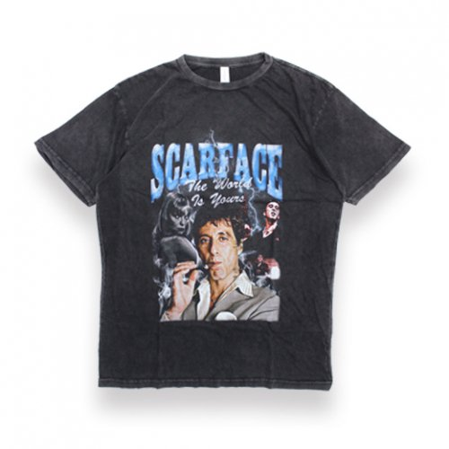 LOUD PACKS -S/S T-SHIRT(SCARFACE)<img class='new_mark_img2' src='//img.shop-pro.jp/img/new/icons5.gif' style='border:none;display:inline;margin:0px;padding:0px;width:auto;' />