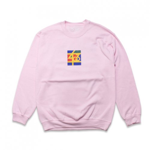 SAMO-3rd STREET PARTNER SHIP CREW NECK SWEAT(LIGHT PINK)<img class='new_mark_img2' src='https://img.shop-pro.jp/img/new/icons5.gif' style='border:none;display:inline;margin:0px;padding:0px;width:auto;' />