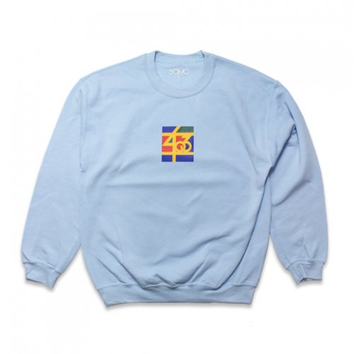 SAMO-3rd STREET PARTNER SHIP CREW NECK SWEAT(LIGHT BLUE)<img class='new_mark_img2' src='//img.shop-pro.jp/img/new/icons5.gif' style='border:none;display:inline;margin:0px;padding:0px;width:auto;' />
