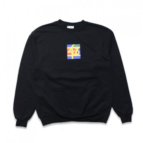 SAMO-3rd STREET PARTNER SHIP CREW NECK SWEAT(BLACK)<img class='new_mark_img2' src='https://img.shop-pro.jp/img/new/icons5.gif' style='border:none;display:inline;margin:0px;padding:0px;width:auto;' />