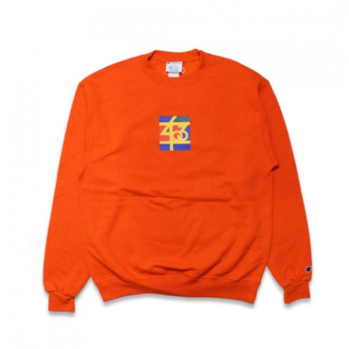 SAMO-3rd STREET PARTNER SHIP CREW NECK SWEAT(ORENGE)<img class='new_mark_img2' src='//img.shop-pro.jp/img/new/icons5.gif' style='border:none;display:inline;margin:0px;padding:0px;width:auto;' />