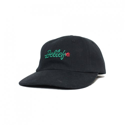 BELIEF NYC -ROSE CAP(BLACK)<img class='new_mark_img2' src='https://img.shop-pro.jp/img/new/icons5.gif' style='border:none;display:inline;margin:0px;padding:0px;width:auto;' />