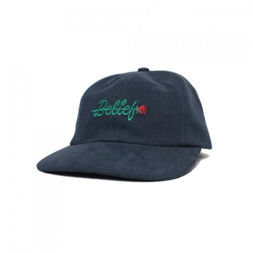 BELIEF NYC -ROSE CAP(NAVY)<img class='new_mark_img2' src='https://img.shop-pro.jp/img/new/icons5.gif' style='border:none;display:inline;margin:0px;padding:0px;width:auto;' />