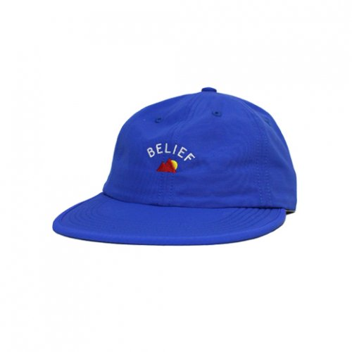 BELIEF NYC -EVEREST 6PANEL CAP(ROYAL)<img class='new_mark_img2' src='//img.shop-pro.jp/img/new/icons5.gif' style='border:none;display:inline;margin:0px;padding:0px;width:auto;' />