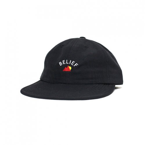 BELIEF NYC -EVEREST 6PANEL CAP(BLACK)<img class='new_mark_img2' src='//img.shop-pro.jp/img/new/icons5.gif' style='border:none;display:inline;margin:0px;padding:0px;width:auto;' />