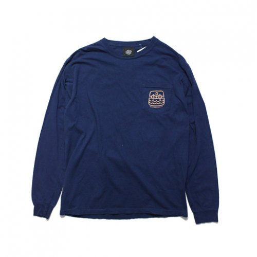 BELIEF NYC -ATLANTIC L/S T-SHIRTS(NAVY)<img class='new_mark_img2' src='//img.shop-pro.jp/img/new/icons5.gif' style='border:none;display:inline;margin:0px;padding:0px;width:auto;' />