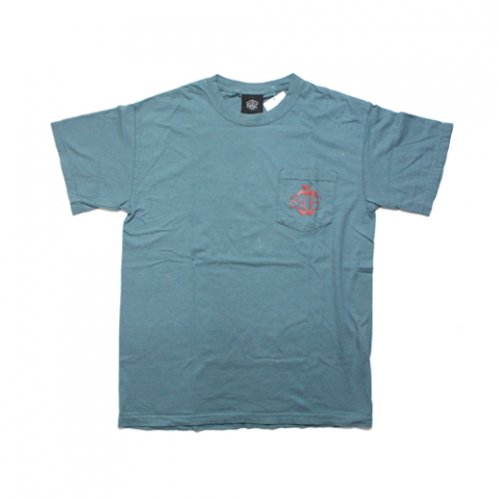 BELIEF NYC -CORE POCKET S/S T-SHIRT(SEA)<img class='new_mark_img2' src='//img.shop-pro.jp/img/new/icons5.gif' style='border:none;display:inline;margin:0px;padding:0px;width:auto;' />