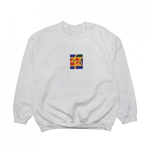 SAMO-3rd STREET PARTNER SHIP CREW NECK SWEAT(WHITE)<img class='new_mark_img2' src='//img.shop-pro.jp/img/new/icons5.gif' style='border:none;display:inline;margin:0px;padding:0px;width:auto;' />