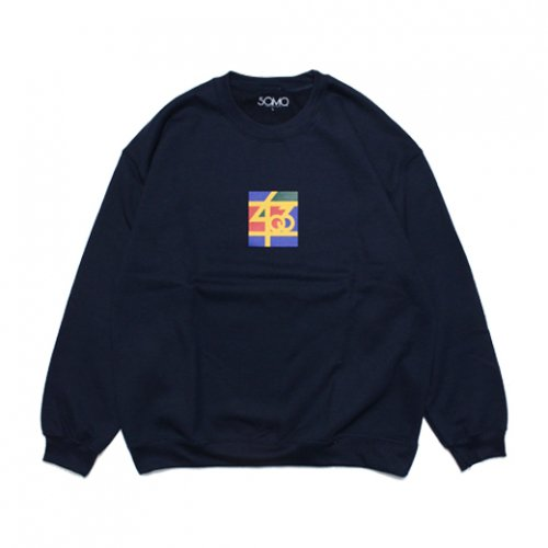 SAMO-3rd STREET PARTNER SHIP CREW NECK SWEAT(NAVY)<img class='new_mark_img2' src='//img.shop-pro.jp/img/new/icons5.gif' style='border:none;display:inline;margin:0px;padding:0px;width:auto;' />
