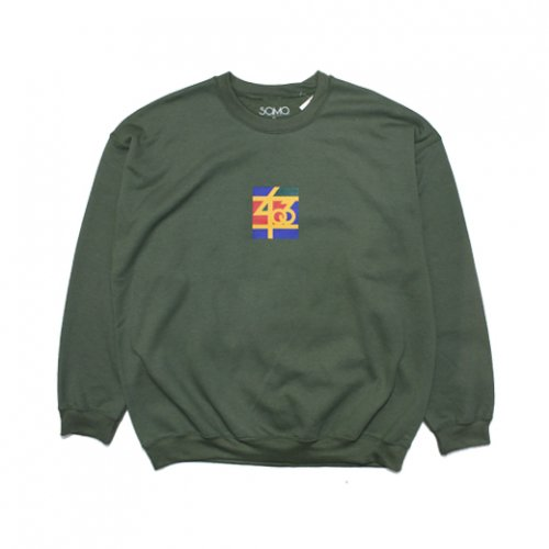 SAMO-3rd STREET PARTNER SHIP CREW NECK SWEAT(MILITARY GREEN)<img class='new_mark_img2' src='https://img.shop-pro.jp/img/new/icons5.gif' style='border:none;display:inline;margin:0px;padding:0px;width:auto;' />