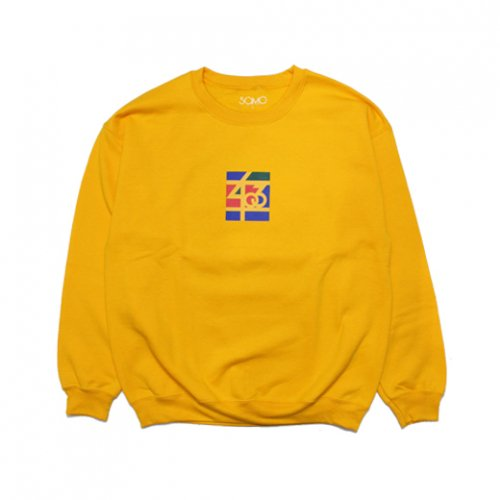 SAMO-3rd STREET PARTNER SHIP CREW NECK SWEAT(YELLOW)<img class='new_mark_img2' src='https://img.shop-pro.jp/img/new/icons5.gif' style='border:none;display:inline;margin:0px;padding:0px;width:auto;' />