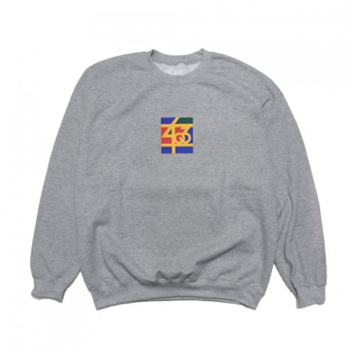 SAMO-3rd STREET PARTNER SHIP CREW NECK SWEAT(GRAY)<img class='new_mark_img2' src='//img.shop-pro.jp/img/new/icons5.gif' style='border:none;display:inline;margin:0px;padding:0px;width:auto;' />